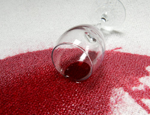 Best way to get red wine out of carpet